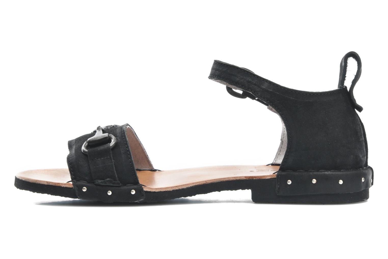 Sandales et nu-pieds Dkode Amy Noir vue face