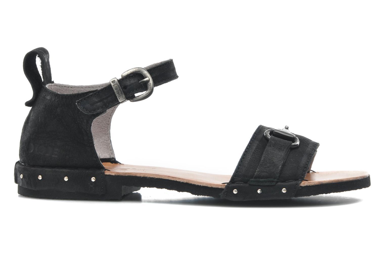 Sandales et nu-pieds Dkode Amy Noir vue derrière