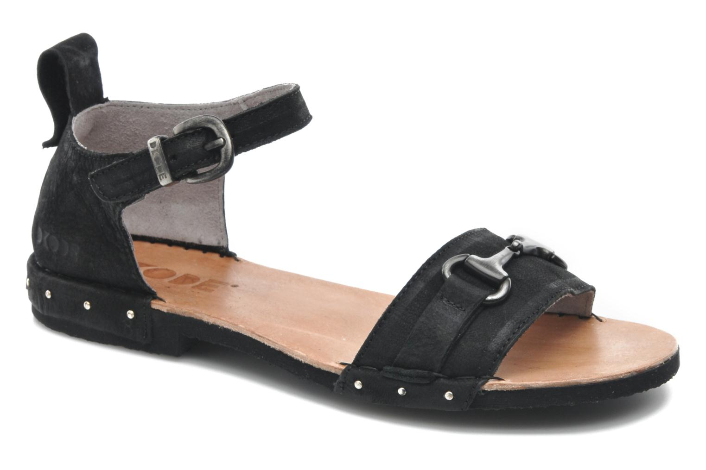 Sandales et nu-pieds Dkode Amy Noir vue détail/paire