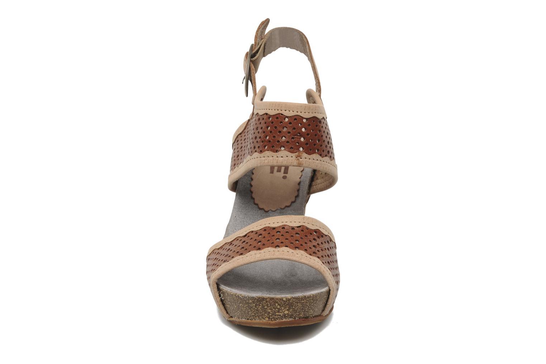 Sandalen Dkode Therese braun schuhe getragen