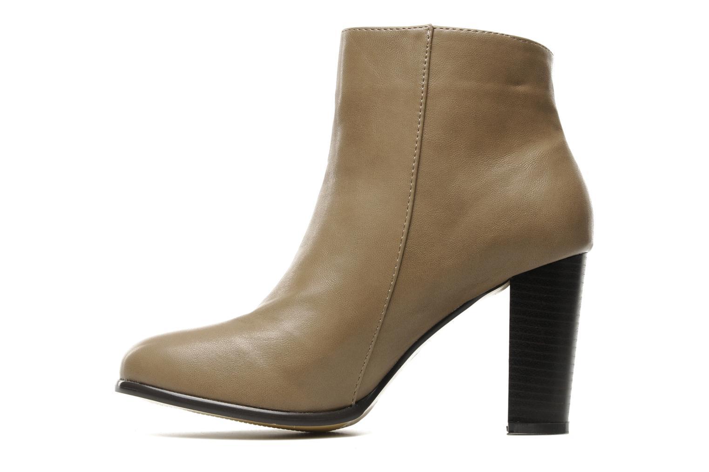 Bottines et boots Eclipse Bottine Eleonore Beige vue face