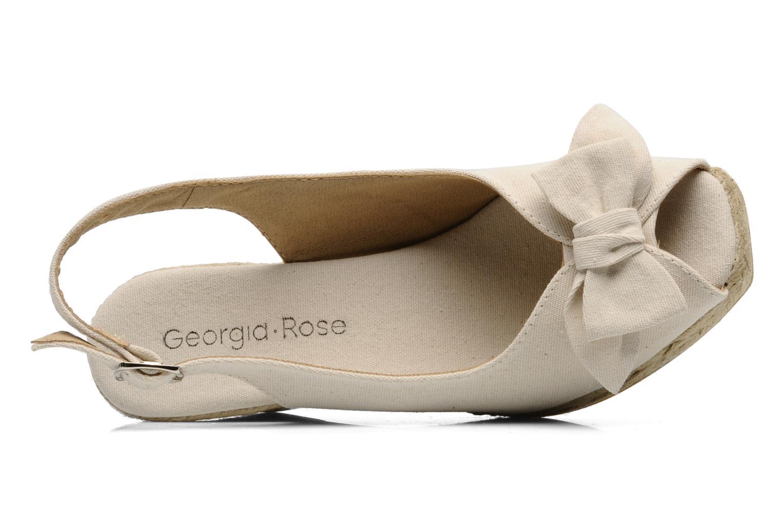 Scarpe di corda Georgia Rose Inayah Beige immagine sinistra