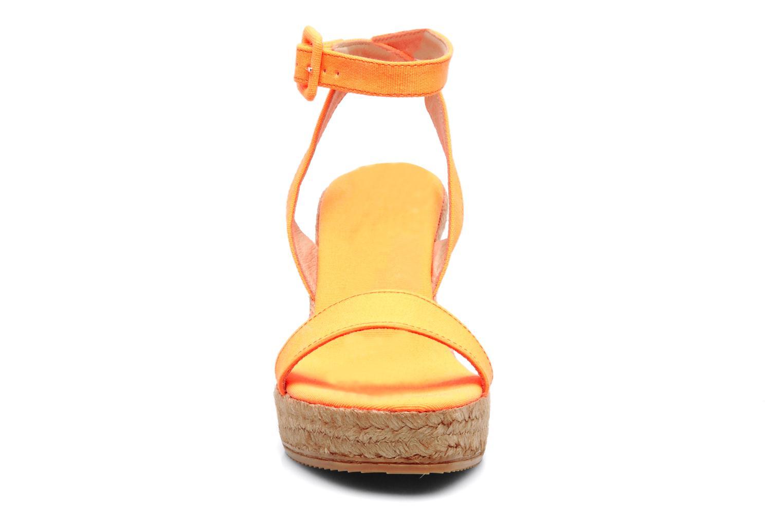 Sandales et nu-pieds Georgia Rose Inna Orange vue portées chaussures