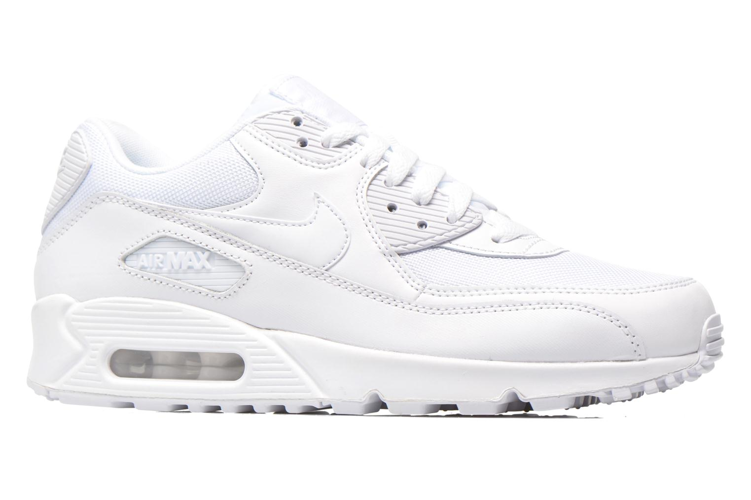 Trainers Nike Nike Air Max 90 Essential White back view