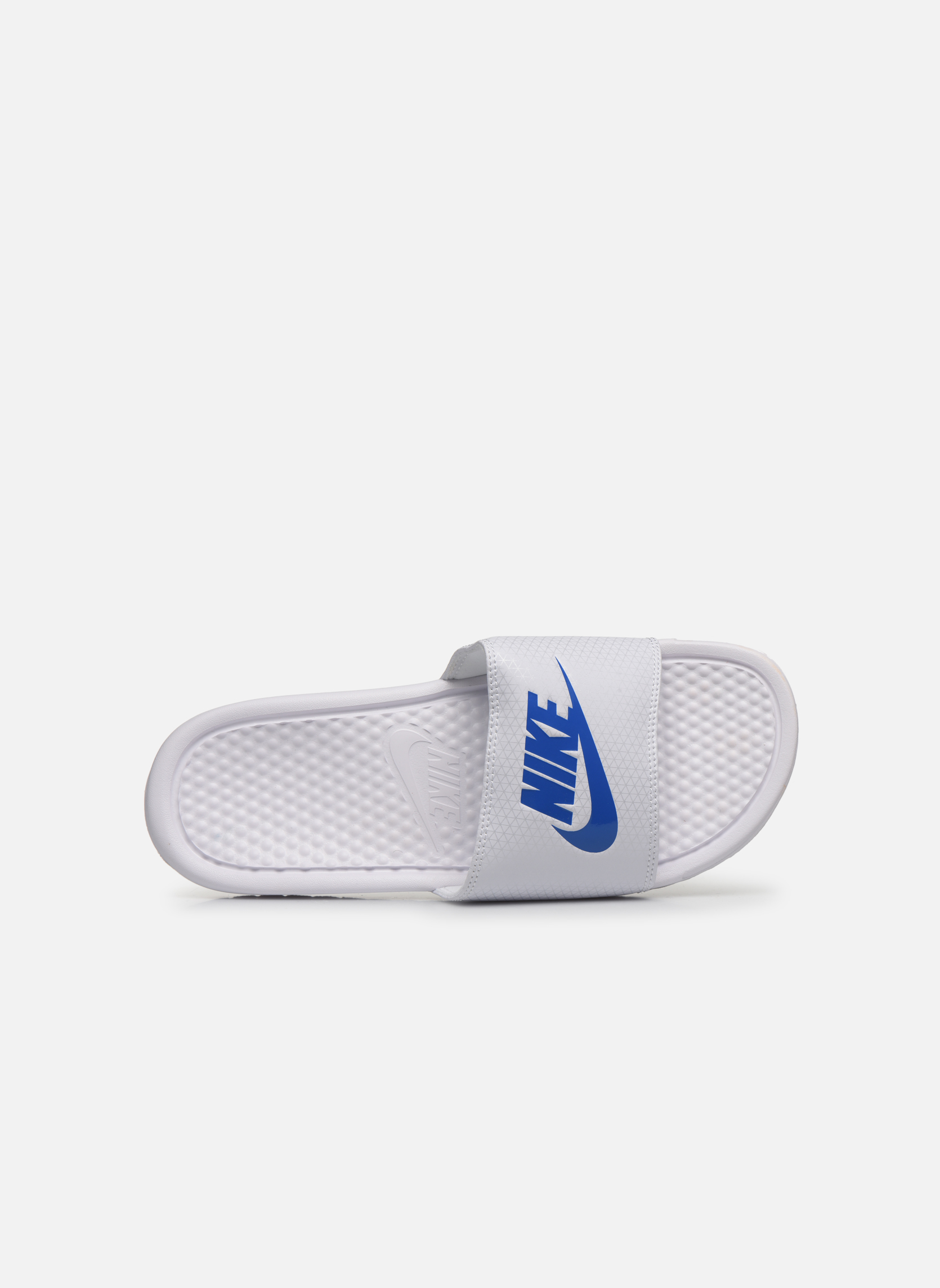 Sandals Nike Benassi Jdi White view from the left