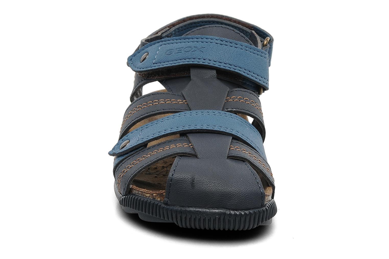 Sandalen Geox J S.STORM A blau schuhe getragen