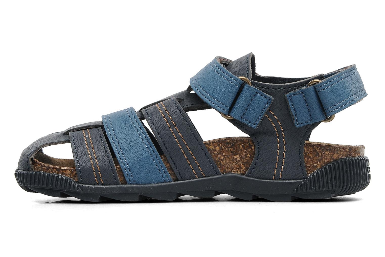 Sandalen Geox J S.STORM A blau ansicht von vorne