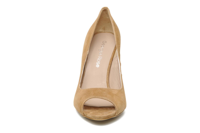 Escarpins Georgia Rose Baba Beige vue portées chaussures