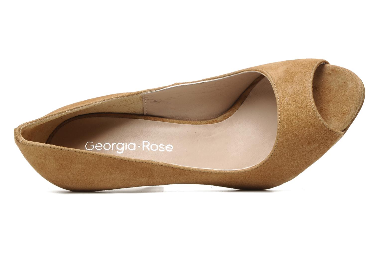 Escarpins Georgia Rose Baba Beige vue gauche