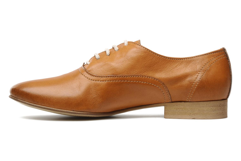 Chaussures à lacets Georgia Rose Lalla Marron vue face