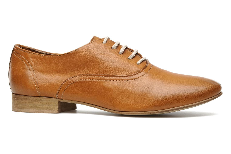 Chaussures à lacets Georgia Rose Lalla Marron vue derrière