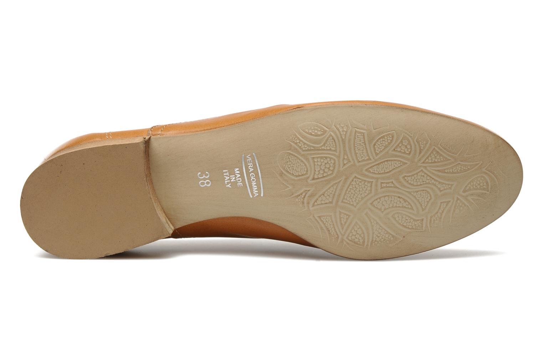 Chaussures à lacets Georgia Rose Lalla Marron vue haut