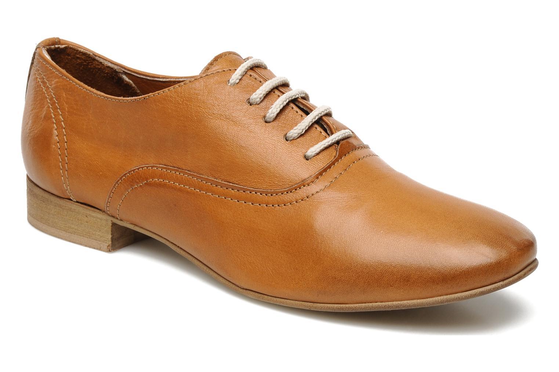 Chaussures à lacets Georgia Rose Lalla Marron vue détail/paire