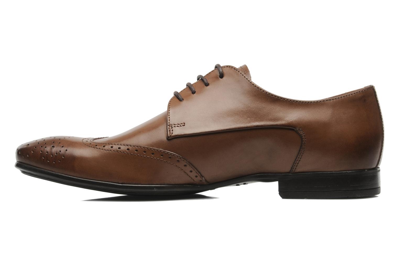 Zapatos con cordones Marvin&Co Thika Marrón vista de frente