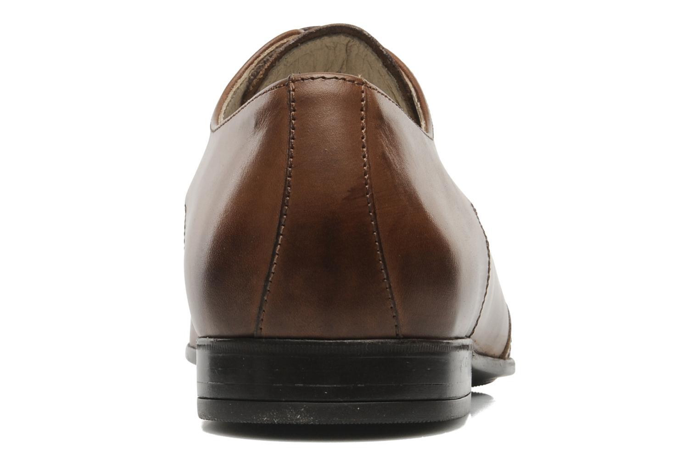 Zapatos con cordones Marvin&Co Thika Marrón vista lateral derecha