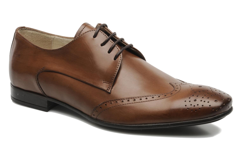 Zapatos con cordones Marvin&Co Thika Marrón vista de detalle / par