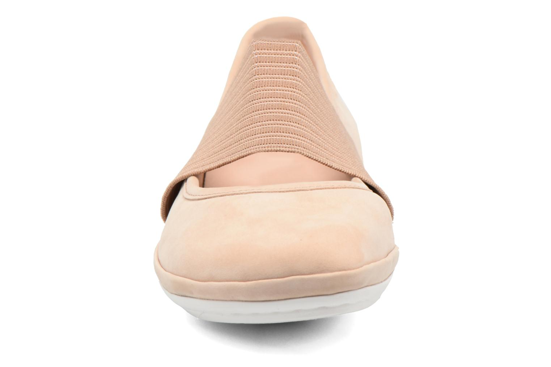 Ballerines Camper Right Nina 21595 Rose vue portées chaussures