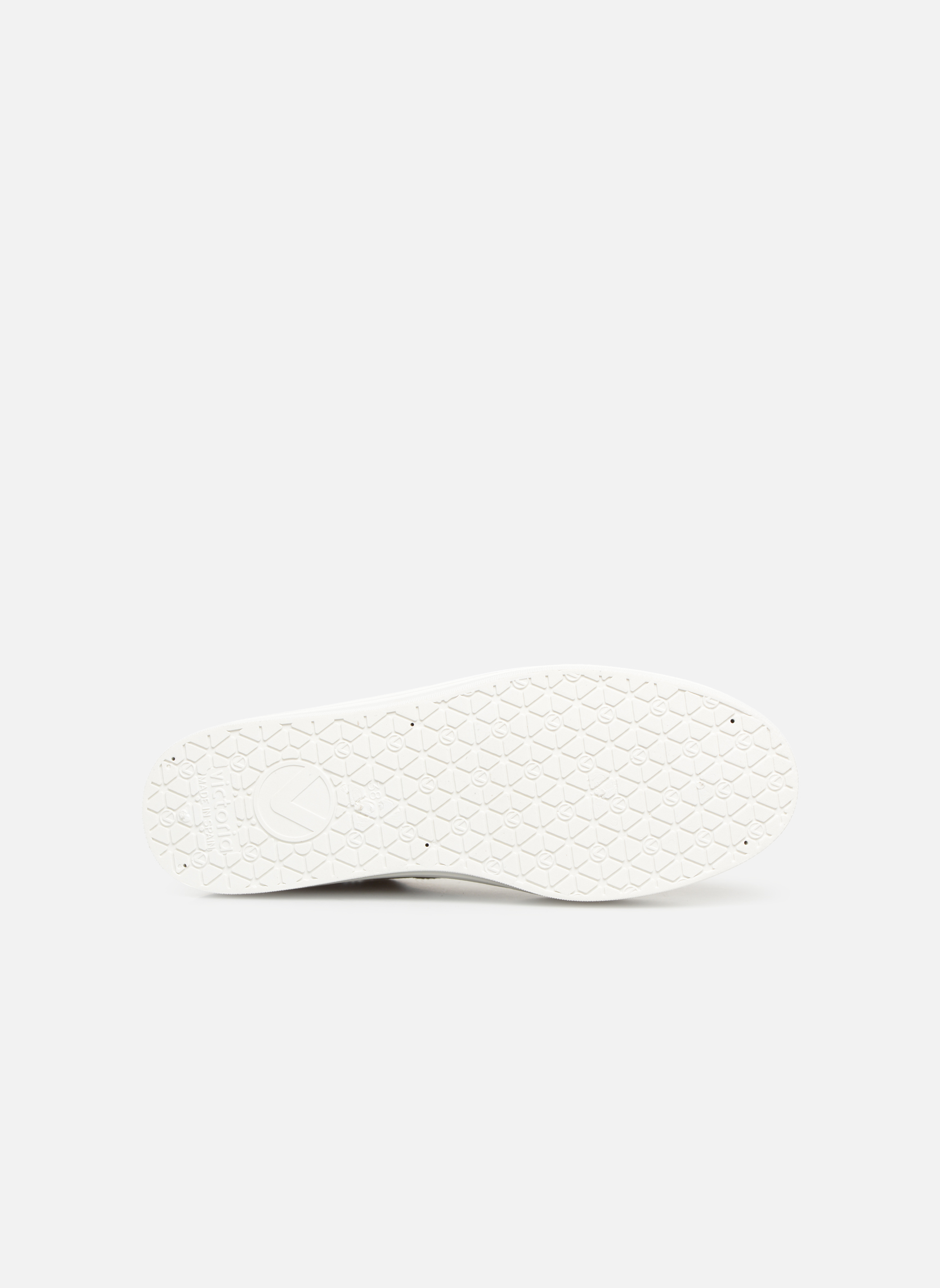 Sneaker Victoria Blucher Lona Plataforma beige ansicht von oben