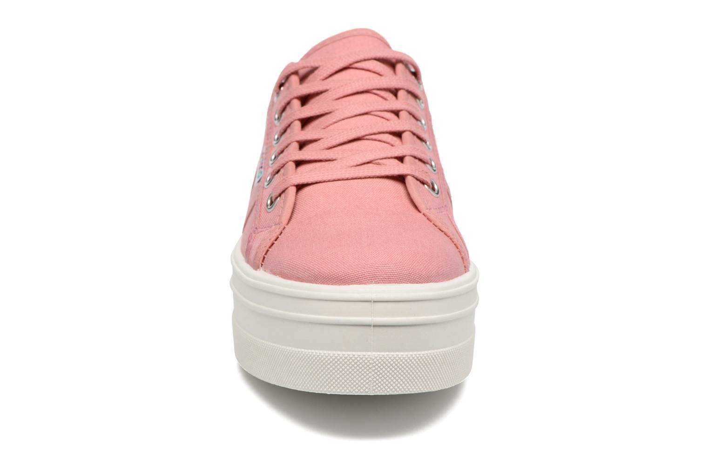 Sneaker Victoria Blucher Lona Plataforma rosa schuhe getragen