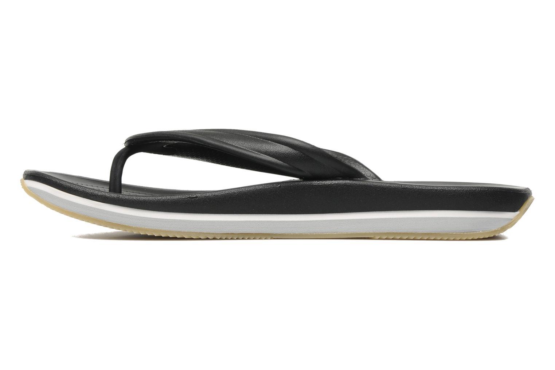 Slippers Crocs Crocs Retro Flip-Flop Zwart voorkant