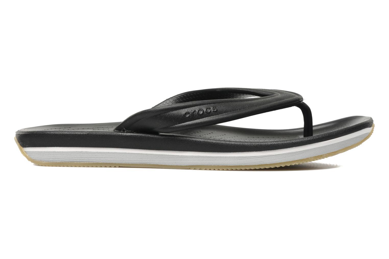Slippers Crocs Crocs Retro Flip-Flop Zwart achterkant