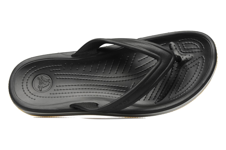 Slippers Crocs Crocs Retro Flip-Flop Zwart links