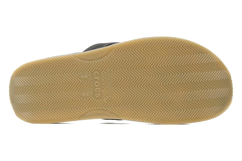 Slippers Crocs Crocs Retro Flip-Flop Zwart boven