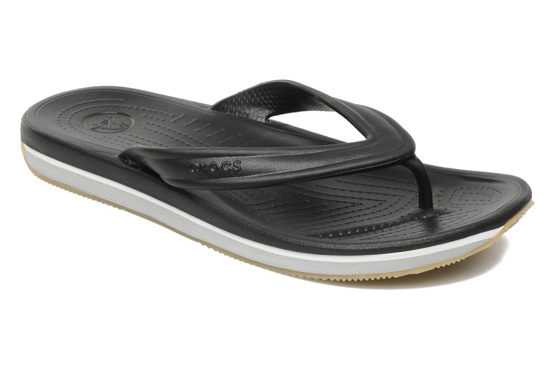 Slippers Crocs Crocs Retro Flip-Flop Zwart detail
