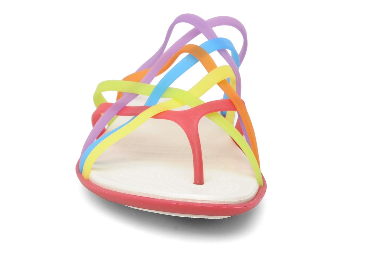 Mules et sabots Crocs Huarache Flip Flop Women Multicolore vue portées chaussures