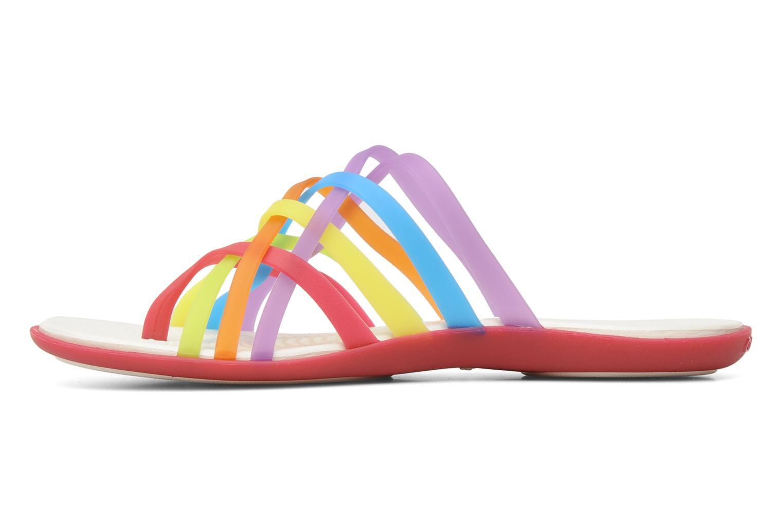 Mules et sabots Crocs Huarache Flip Flop Women Multicolore vue face