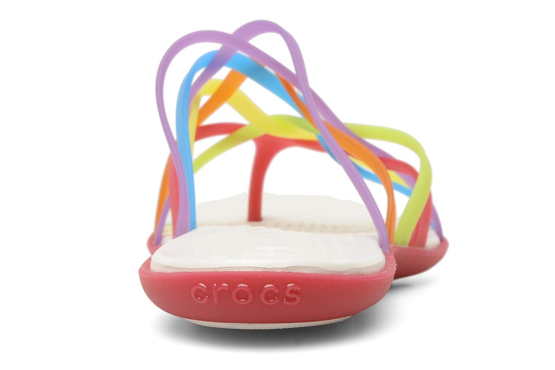 Mules et sabots Crocs Huarache Flip Flop Women Multicolore vue droite