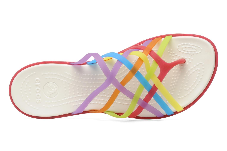 Mules et sabots Crocs Huarache Flip Flop Women Multicolore vue gauche