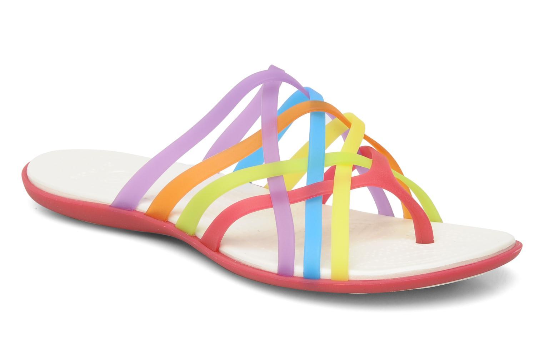 Huarache Flip Flop Women Multi/Geranium