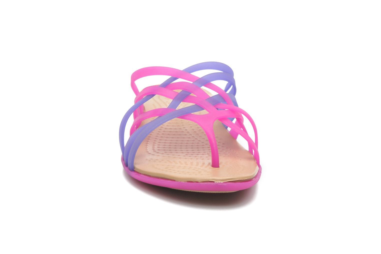 Wedges Crocs Huarache Flip Flop Women Paars model