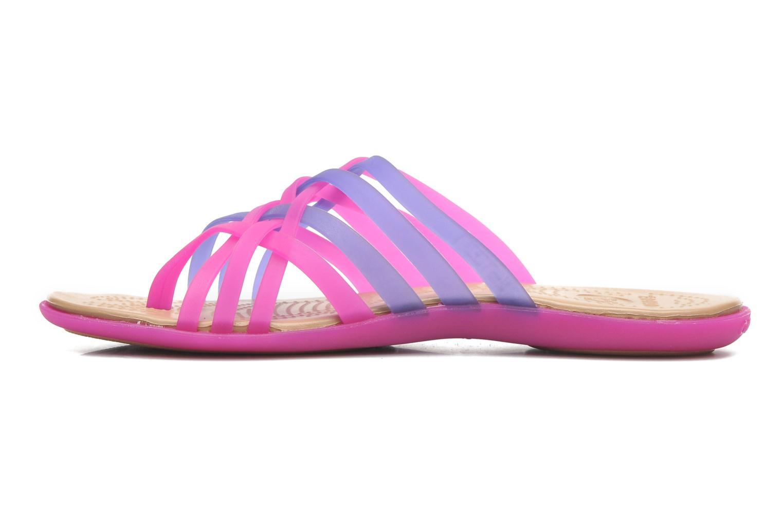 Wedges Crocs Huarache Flip Flop Women Paars voorkant