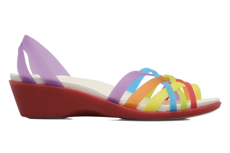 Sandales et nu-pieds Crocs Huarache Mini Wedge Women Multicolore vue derrière