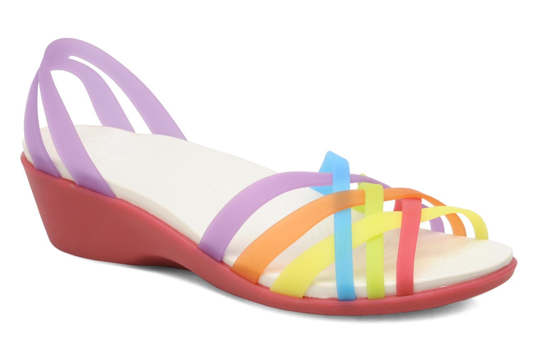 Sandales et nu-pieds Crocs Huarache Mini Wedge Women Multicolore vue détail/paire