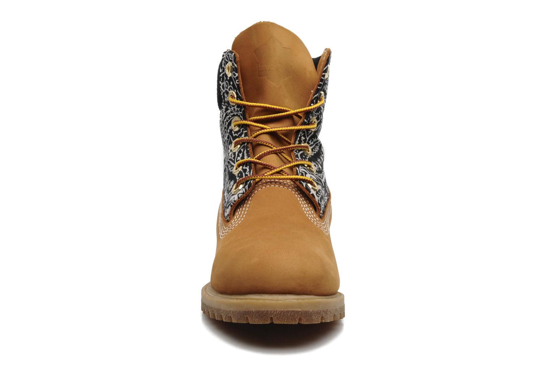 Stiefeletten & Boots Timberland 6in Nadège Winter mehrfarbig schuhe getragen