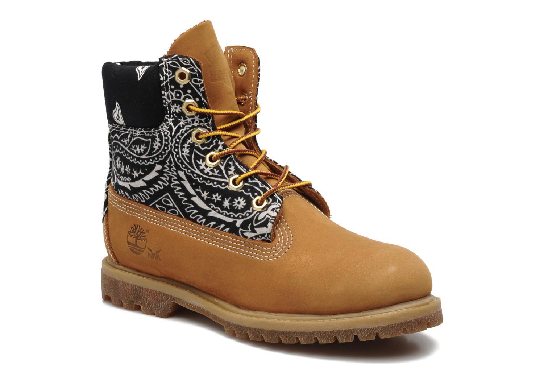 Stiefeletten & Boots Timberland 6in Nadège Winter mehrfarbig detaillierte ansicht/modell