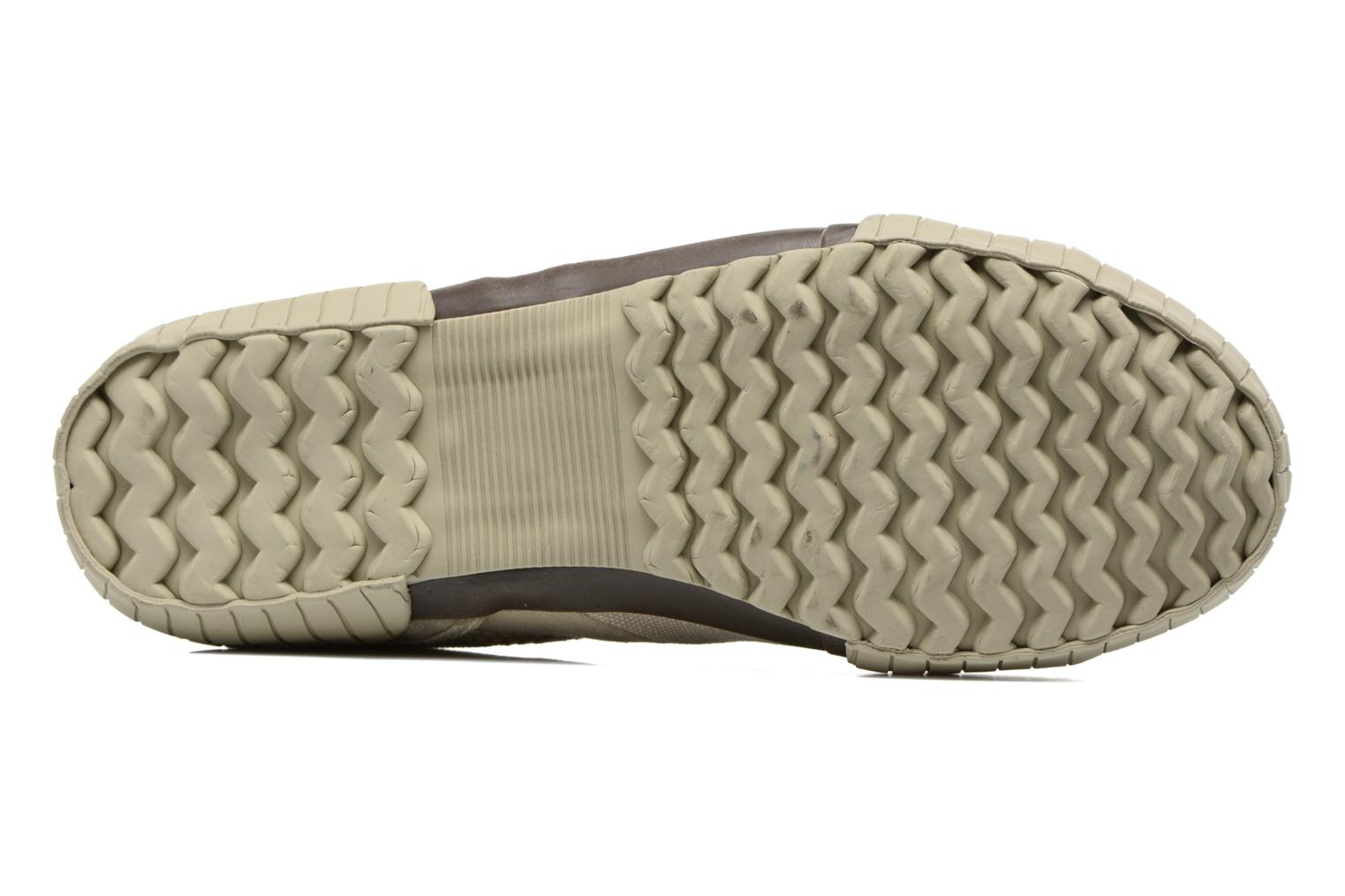 Baskets TBS Crocky Beige vue haut