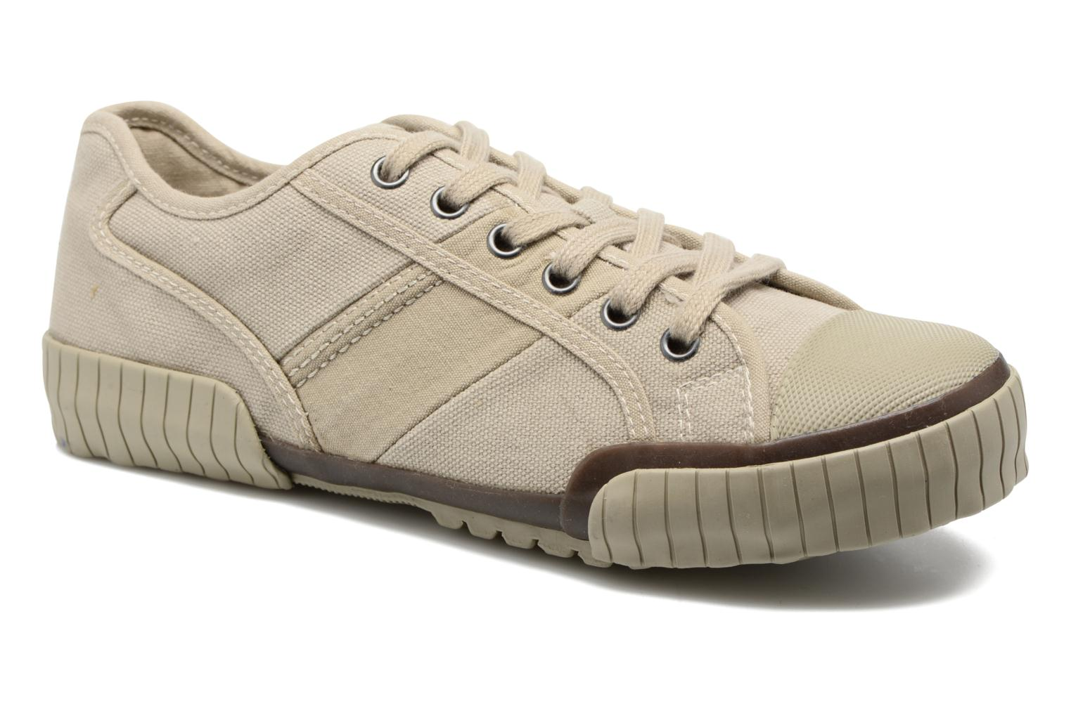 Trainers TBS Crocky Beige detailed view/ Pair view