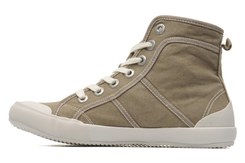 Sneakers TBS Obelia Groen voorkant