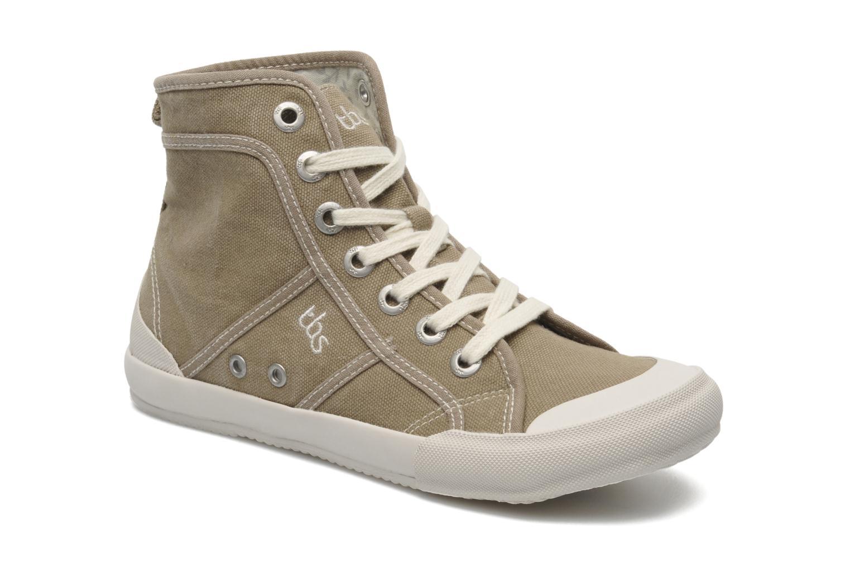 Sneakers TBS Obelia Groen detail