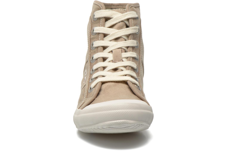 Baskets TBS Obelia Beige vue portées chaussures