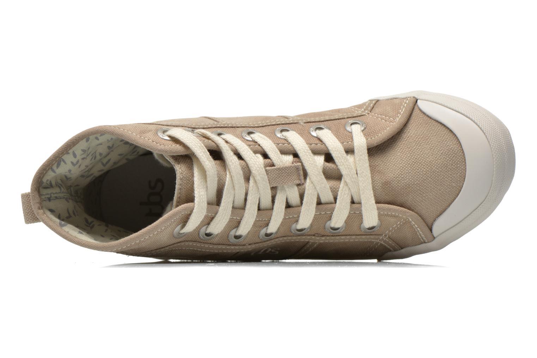 Sneaker TBS Obelia beige ansicht von links