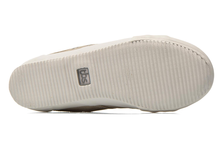 Sneakers TBS Obelia Beige immagine dall'alto