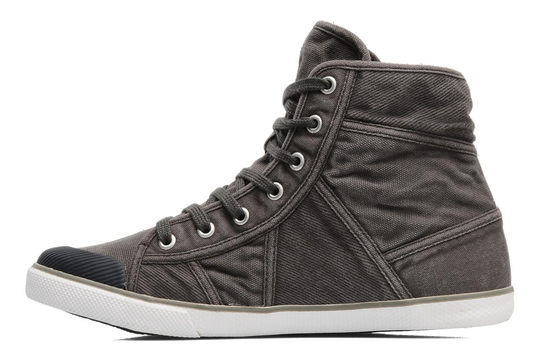 Sneaker TBS Veluta grau ansicht von vorne
