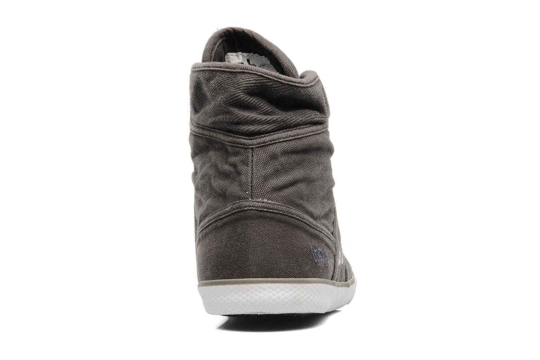 Sneaker TBS Veluta grau ansicht von rechts