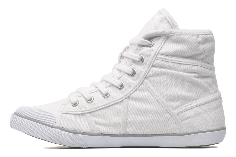 Baskets TBS Veluta Blanc vue face