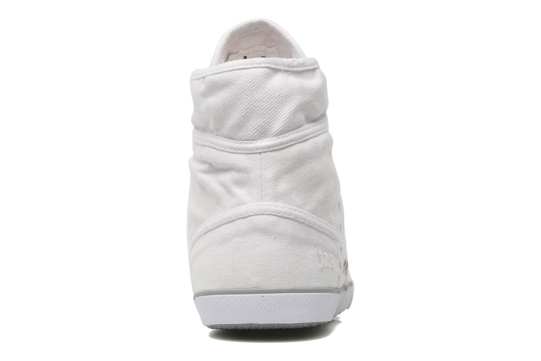 Sneakers TBS Veluta Wit rechts